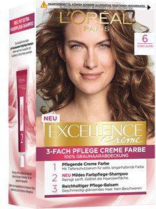 Loreal Excellence Crème 6 Dunkelblond