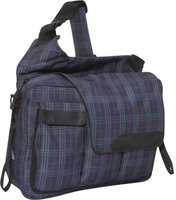 Diaper Dude Messenger II navy - red