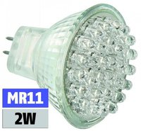 McShine LED Trenta Vela 1,5W GU5,3 MR11 Warmweiß (1537489)