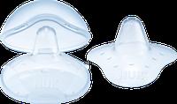 NUK Brusthütchen mit Schutzdose Silikon Größe M