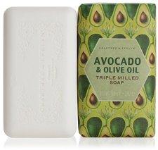 Crabtree & Evelyn Heritage Avocado & Olivenöl Cremeseife (158 g)