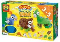 SES Super-Clay Knetspiel Dino