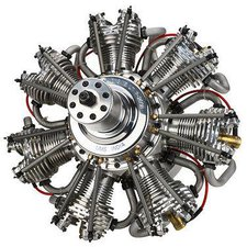 Horizon Hobby Evolution 7-Zylinder 4-Takt Benzin-Sternmotor 260ccm (EVOE7260)
