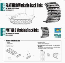 Trumpeter Panther G Workable Tracks links (02046)