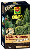 Compo NaturDünger für Koniferen mit Guano 2,5kg