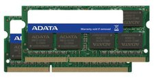 A-Data 8GB Kit SO-DIMM DDR3 PC3-12800 CL11 (AD3S1600C4G11-2)
