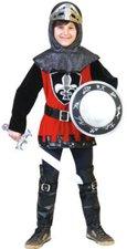 Funny Fashion Kostüm Schwarzroter Ritter