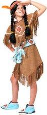 Funny Fashion Kostüm Indianerin hellbraun