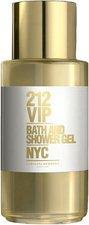 Herrera 212 VIP Bath & Shower Gel (200 ml)