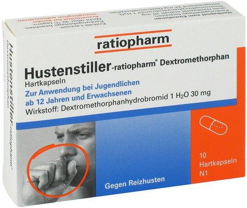 ratiopharm Hustenstiller Dextromethorphan Kapseln (PZN 9230807)