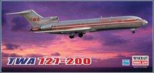 Minicraft TWA 727-200 (14599)