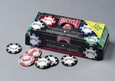 US Playing Cards Bicycle Pokerchips (100 Chips| 8g)