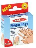 AXISIS Fingerlinge Schutzkappen für Finger u. Zehen (6 Stk.)