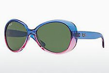 Ray Ban Junior RB9048S - 175/71 (blue faded pink/green)