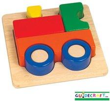 Guidecraft Erstes Puzzle Zug