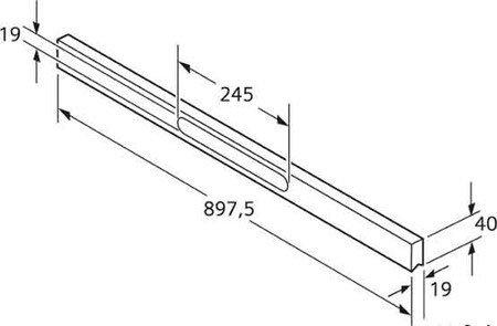 Siemens LZ 49150 Griffleiste