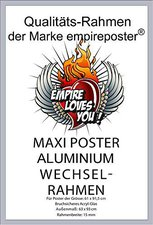 Empire Poster ALU Rahmen für 61x91,5