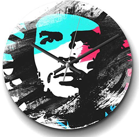Che Guevara Wanduhr