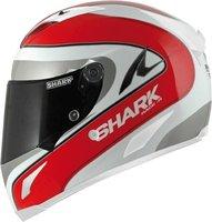 Shark Race-R Optigon weiß/rot/silber