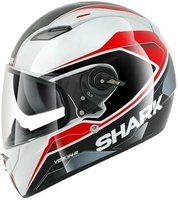 Shark Vision-R Syntic weiß/schwarz/rot