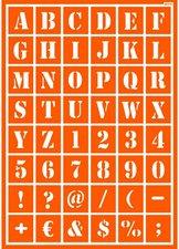 C. Kreul Textil-Schablone Alphabet (92511)