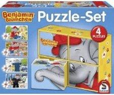 Schmidt Spiele Puzzle Set Benjamin Blümchen (2x26, 2x48 Teile)