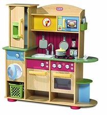 Little Tikes Cooking Creations Premium Wood Kitchen