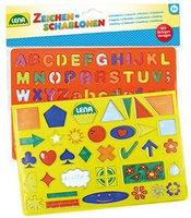 Lena Zeichenschablonen Alphabet, Zahlen und Formen