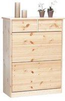 Steens Furniture Ltd Mario 188/19 Schuhschrank natur lackiert