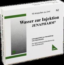 mibe Wasser Zur Injektion Jenapharm Amp. (10 x 2 ml)