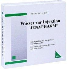 mibe Wasser Zur Injektion Jenapharm Amp. (10 x 5 ml)
