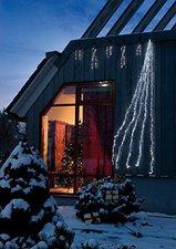 Hellum LED-Wasserfall 192er weiß
