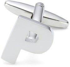 Teroon Unisex-Manschettenknopf Buchstaben Initialen P (608655)