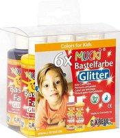 C. Kreul Mucki Bastelfarbe Glitter 6er-Set