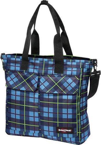 Eastpak Shopper unichecks blue