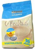 Favor Kaffeepads Naturmild (36 Stk.)