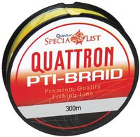 Quantum Fishing Quattron PTI- Braid Angelschnur 150m 020mm