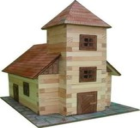 WALACHIA Holzbausatz Kirche