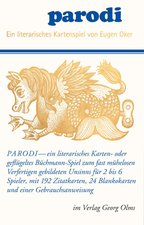 Olms Verlag Parodi - ein literarisches Kartenspiel