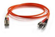 CablesToGo Glasfaser-Patchkabel LC-ST-Duplex 62,5/125 - 5m