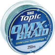Zebco Topic Line OMX Braid Angelschnur 043mm 250m