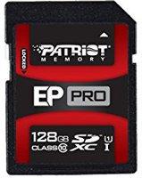 Patriot EP PRO SDXC SDXC 128GB Class 10 UHS-I Card