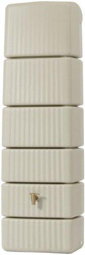 GRAF Säulen-Wandtank Slim sandbeige 300L