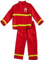 Funny Fashion Kostüm Feuerwehrmann 2-teilig