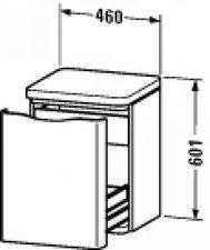Duravit PuraVida Rollcontainer (9203)