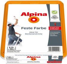 Alpina Farben Feste Farbe Matt 2,5 Liter
