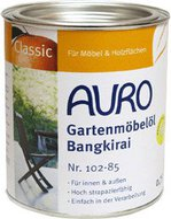 AURO Gartenmöbelöl-Bangkirai 0,75 Liter (Nr. 102-85)