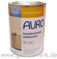AURO Heizkörperlack seidenmatt 2,5 Liter (Nr. 257)