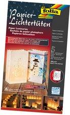 Folia Papier-Lichtertüten Schneemann 5 Stück (12409)