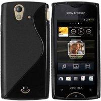 Mumbi TPU Silkon Schutzhülle für Sony-Ericsson Xperia Ray